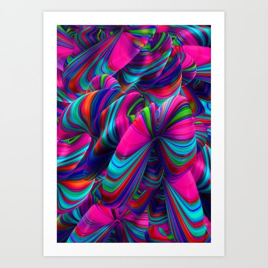 Abstract Pop Art Print