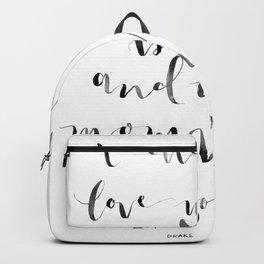 i'm sorry Backpack