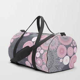 FESTIVAL FLOW - PINK GREY Duffle Bag