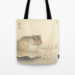 Tiger - Ohara Koson (1900 - 1930) Tote Bag