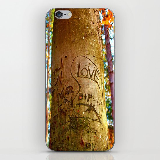 South park love iPhone & iPod Skin