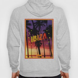 Ibiza, sunset Hoody