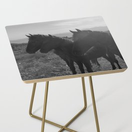 Desert Horses Side Table