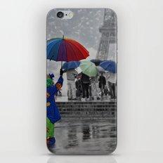 Bonjour Paris! iPhone & iPod Skin