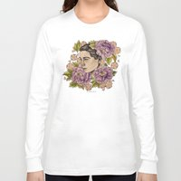 bjork Long Sleeve T-shirts featuring Bjork by alxbngala