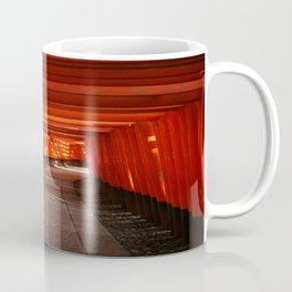 The Torri Gates of Fushimi Inari Taisha Coffee Mug