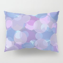 Pastel Pink and Blue Balls Pillow Sham
