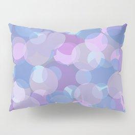 Pastel Pink and Blue Balls Pillow Sham