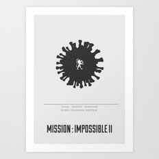 Mission : Impossible II - minimal poster Art Print