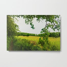 Parbold Hill (Digital Art) Metal Print