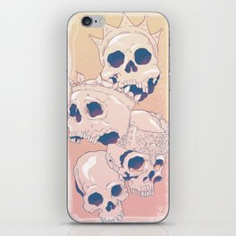King Skulls iPhone Skin