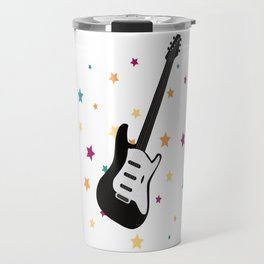 Rock Guitar Travel Mug