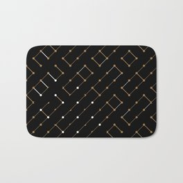 Artis 2.0, No.12 in Black & Gold Bath Mat