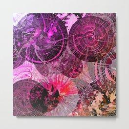 Spinning Around in Circles Metal Print