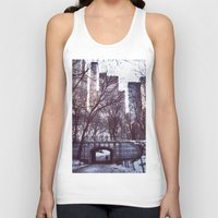 central park Tank Tops featuring Central Park by MereMades