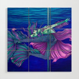 Pole Stars - PISCES Wood Wall Art