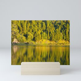 Furnas lake Mini Art Print