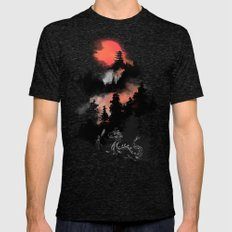 A samurai's life Tri-Black Mens Fitted Tee LARGE