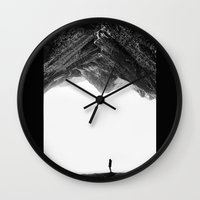 lost Wall Clocks featuring Lost in isolation by Stoian Hitrov - Sto