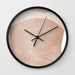 tan lines Wall Clock