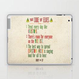 Buddy the Elf! The Code of Elves Laptop & iPad Skin