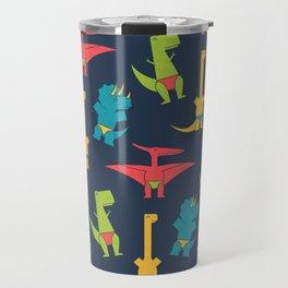 Dinos In Speedos Travel Mug