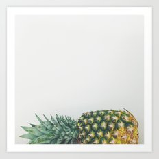 Fallen Pineapple Art Print