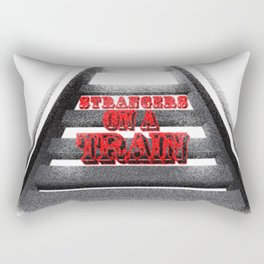 Strangers on a Train Rectangular Pillow