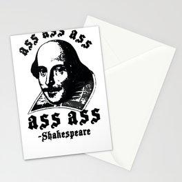 ASS ASS ASS SHAKESPEARE T-SHIRT Stationery Cards