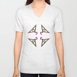 Triangular Hangers Unisex V-Neck