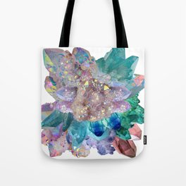 Aura Crystal Bouquet Mandala Tote Bag