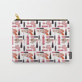 Lipsticks and Laserguns Carry-All Pouch