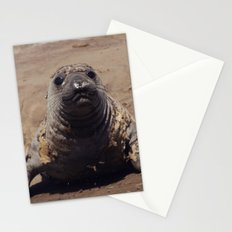 elephant seal pup Stationery Cards