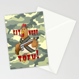 Eat More Tofu Stationery Cards