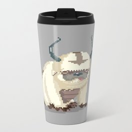 Pixel Avatar Metal Travel Mug