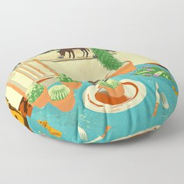 LA MESA DE CACTUS Floor Pillow