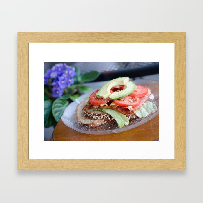 BLT w/avocado Framed Art Print
