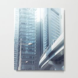 A perfect society living in a perfect world Metal Print