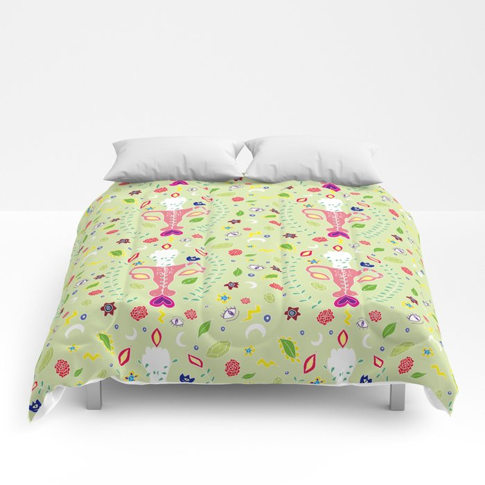 Estampado Girl Power Comforters