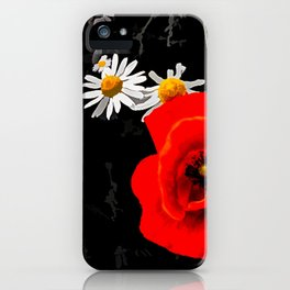 Summer flowers POPPIES, DAIRIES, CORNFLOWERS #1 iPhone Case