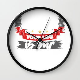 EMS Your Life is Our Mission Emergency Medical Services Nurse Gift Doctor Gift Wall Clock