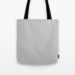Sharkskin Stripe Tote Bag