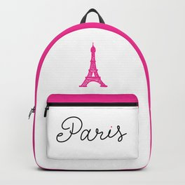 Paris I Love You - Eiffel Tower Backpack