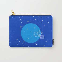Night Sky Moon Bike  Carry-All Pouch