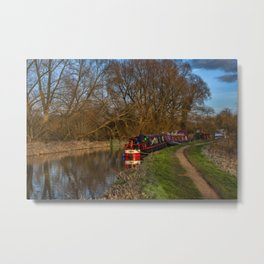 Living On The Kennet and Avon Canal Metal Print