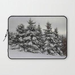 Winter White -Nova Scotia Canada Laptop Sleeve