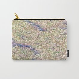Stucco Texture Carry-All Pouch