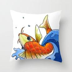 coy Throw Pillow