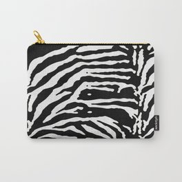 Zebra Skin Camouflage Pattern Carry-All Pouch
