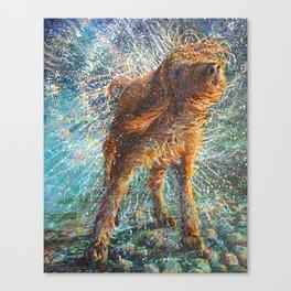 Beaded Threads Canvas Print